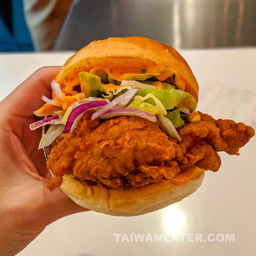 best chicken sandwich in taipei