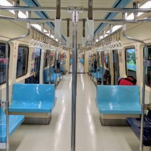 taiwan subway car